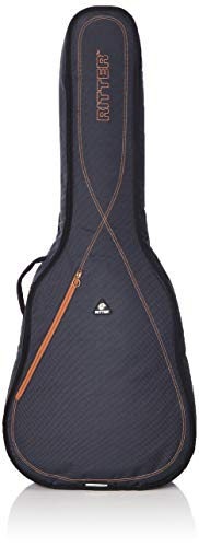 Ritter Session 3 - Gitarrentasche für Dreadnought-Akustikgitarre, Dunkelgrau