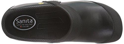 Sanita Unisex-Erwachsene Safety Clog Open-Sb Schwarz (Black 2)