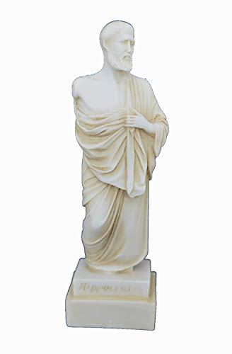 Estia Creations Hippokrates Statue Antike Griechische Vater der modernen Medizin klein Alter Skulptur (Hippokrates-statue)