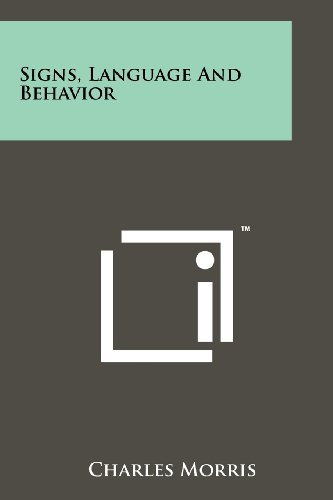 Signs, Language and Behavior por Charles Morris