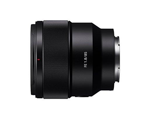 Sony SEL-85F18 E-Mount Teleobjektiv mit Festbrennweite (FE 85 mm F1,8, ED-Glas) schwarz