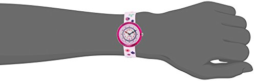 FlikFlak Mädchen Analog Quarz Uhr mit Stoff Armband FBNP093 - 4