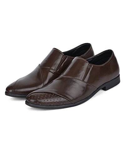 DaMochi STAHL Brown Men's Formals (6 UK)