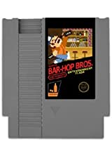 NES look-a-like Concealable Entertainment Flask - Super Bar-Hop Bros