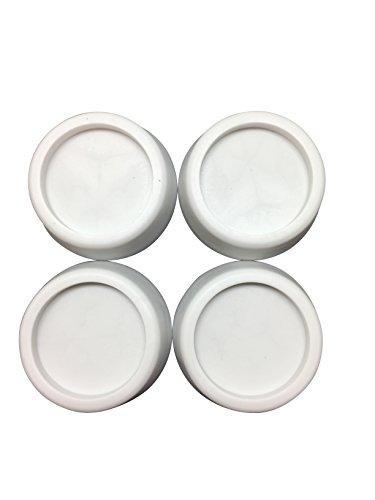4x Vibrationsdämper Schwingungsdämpfer Waschmaschine,Trockner,Gummifüsse, NEU