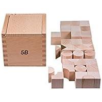 Objekte nach 1945 Erzgebirge SINA Gabe 6 Fröbel Spiel Quader 25mm  NEU Holz Spielzeug Erzgebirge
