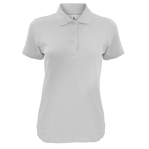 B and C Safran Timeless - Polo - Donna Grigio Pacifico