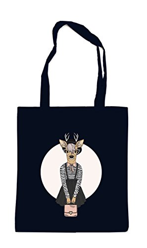 Certified Freak Fashion Deer Bag Black
