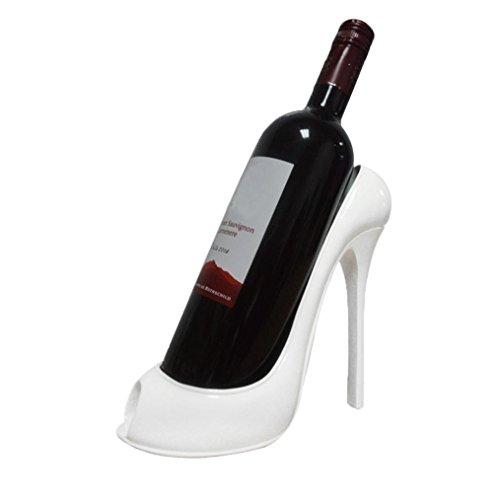Upxiang weinständer modern, Wein-Zahnstange, Absatz-Schuh-Flaschen-Halter-Speicher, Rope Wine...