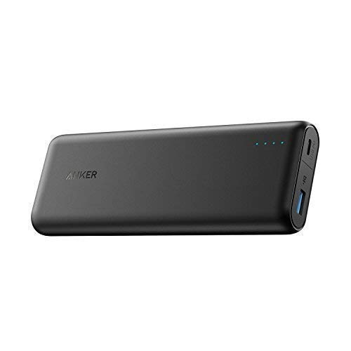 Anker Batteria Portatile PowerCore Speed 10000 QC con Qualcomm Quick Charge 3.0 Retrocompatibile con QuickCharge 1 & 2, con Power IQ. Power Bank Tascabile per Smartphone Android, Samsung, iPhone X/8/8 Plus, iPad e Altro