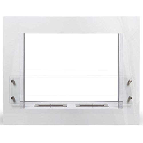 Boston-color-blanco-Chimenea-de-etanol-Sartn-ecolgico-colocar-el-suelo-mobile-porttil