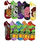 Teenage Mutant Ninja Turtles TMNT Ankle Socks Mix N' Match 10-Pack