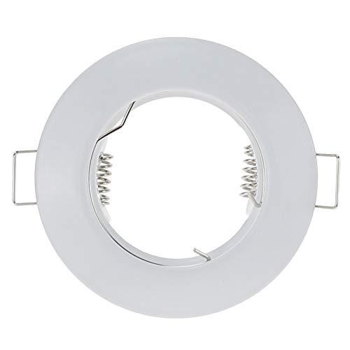 Arbeitsscheinwerfer 10 Stücke Moderne Aluminium Weiß Nickel Einbaustrahler Aufputzrahmen Mr16 Gu10 Sockel -