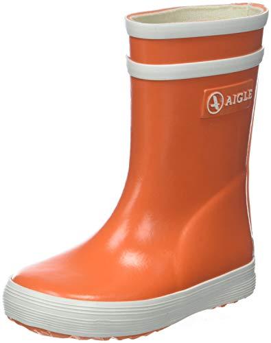 Aigle Unisex-Kinder Baby Flac Gummistiefel, Orange (VERMILLON), 23 EU