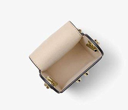 Yan Show Damen Shoulder Bags PU Handbags With Matching Wallet Purse 2 Stück Set Blau