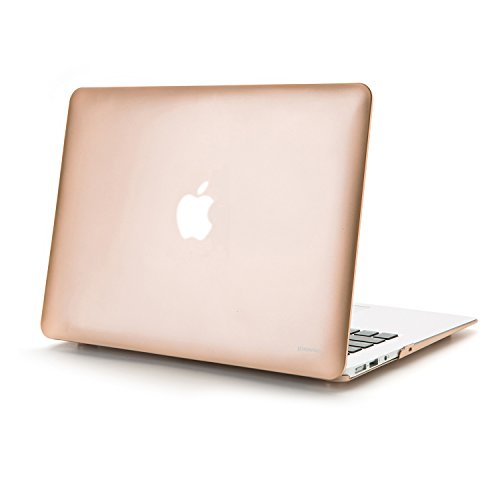 jokhang MacBook Case Shell Hard Case Cover [2 in 1] mit Keyboard Cover *Gold MacBook Pro 13.3