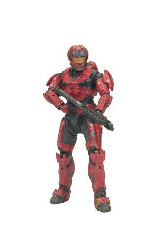 (Halo Reach Serie 2 Figur: Spartan CQC (Custom Male team red))