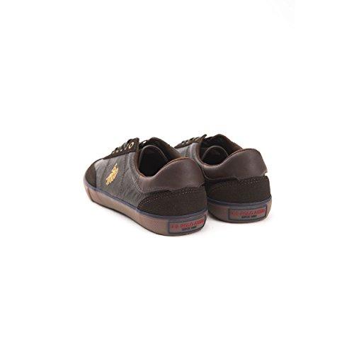 U.S.POLO ASSN. Chaussures Pour Hommes Marron foncé