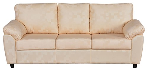 Cloud 9 Elegance Marygold Three Seater Sofa (Beige)