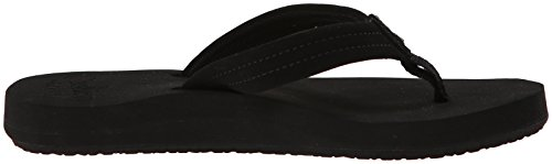 Reef REEF CUSHION BREEZE, Infradito donna Nero (Black/black)