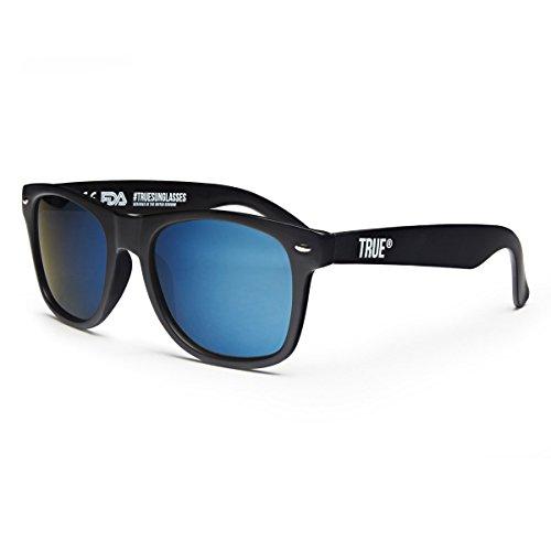 True Vision Unisex Verspiegelte Polarisierte Sonnenbrille UV400