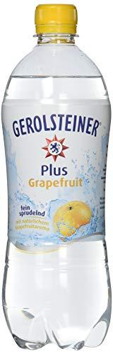 Gerolsteiner Plus Grapefruit/Natürliches Mineralwasser mit fein sprudelnder Kohlensäure, kombiniert mit fruchtigem Grapefruit Aroma/6 x 0,75 L PET Einweg Flaschen - Natürliches Mineralwasser