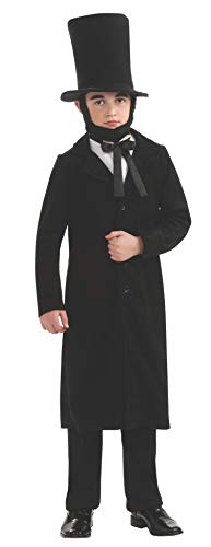 Rubie's Deluxe Abraham Lincoln Costume - Small (Size 4 to 6, Ages 3 to 4) by Rubie's Costume Co (Kostüme Abraham Lincoln Für Kinder)