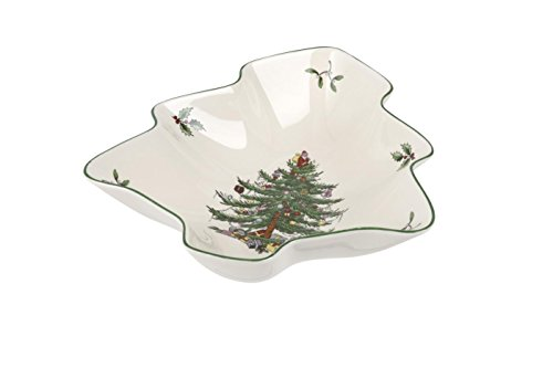 Spode Christmas Tree Seifenschale, Keramik, Mehrfarbig Spode China Christmas Tree