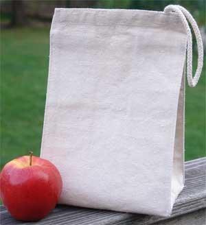 ECO-SACS - Sac Certified Organic Cotton déjeuner - 7 \\