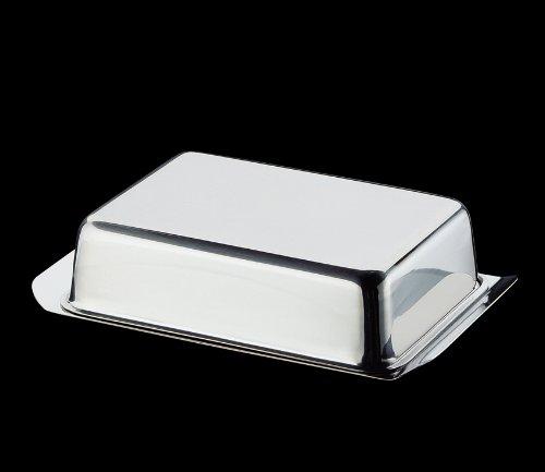 Cilio-beurrier de réfrigérateur en acier inoxydable
