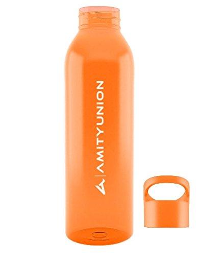 AMITYUNION Trinkflasche Azure 600ml - Sportflasche auslaufsicher -...
