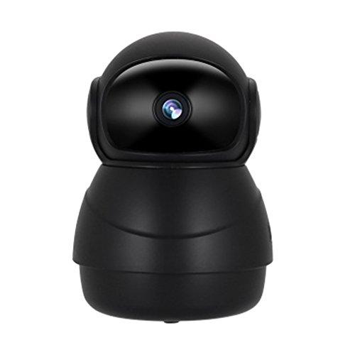 juqilu IP Kamera, 1080p HD-Überwachungskamera IP Security Home Camera, Nachtsicht Bewegungserkennung 2 Wege Audio Home Indoor Kamera Baby Monitor Smart Schwenkbar - Registrieren Abdeckung