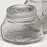 Einkochgläser, 0,5 Liter, 6 Stück