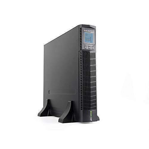 Green Cell UPS USV Unterbrechungsfreie Stromversorgung 2000VA (1800W) 230V 2000VA-3000VA Pure Sine Wave Online 6X IEC320 C13-10A