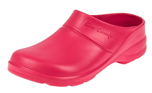 BIO LEMIGO leichte Red Clogs Gartenclogs Gartenschuhe EVA COMFORT Rouge XPwxrX