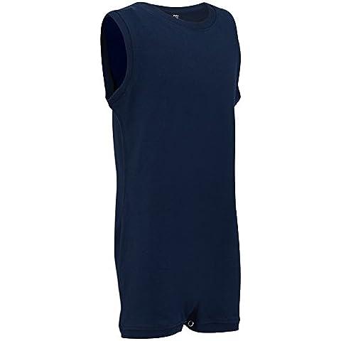 Abbigliamento per bambini più grandi con esigenze particolari (3-14 anni) - body SENZA MANICHE per bambini e bambine, di KayCey
