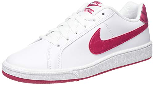 Nike Wmns Court Royale, Zapatillas de Tenis para Mujer, Blanco (White/Wild Cherry/Noble Red 119), 39 EU