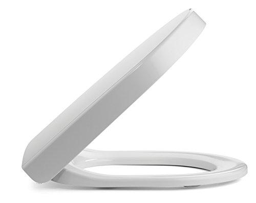 Preisvergleich Produktbild Pressalit Pressalit 3 WC-Sitz mit Absenkautomatik; weiß; für Duravit Starck 3 WC
