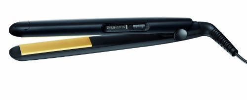 Remington S1450 Slim Compact - Plancha de pelo, hasta 215º C, revestimiento de cerámica, placas flotantes