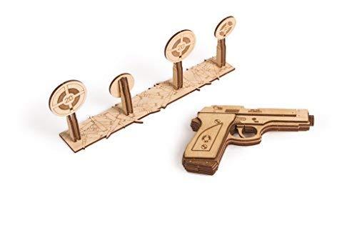 Wood Trick Holz Modell Kit - Gun (Rig Modell-kits Big)
