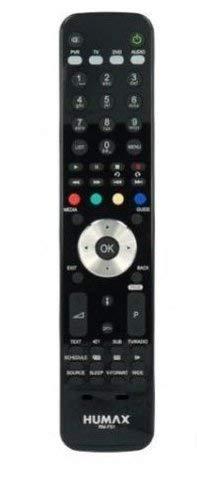 Humax I-Cord, HD-Satelliten-Receiver/humax-tel-fr1Fernbedienung schwarz