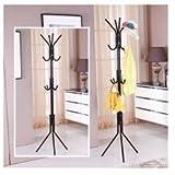 Styleys wrought iron coat rack hanger cr...
