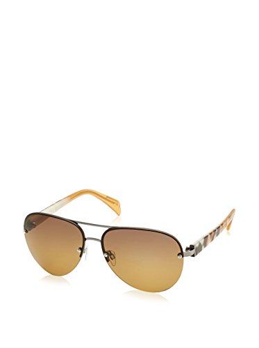 Just Cavalli Damen Sonnenbrille JC677S, Braun (Orange Tiger Effect), One size