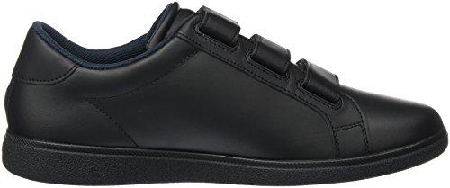 Tommy Hilfiger Herren D2285anny 3a Sneakers Schwarz (Nero)