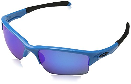 Oakley Herren Quarter Jacket 920026 61 Sonnenbrille, Blau (Sky Blue/Prizmsapphire)