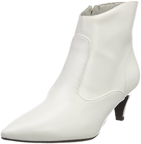 Tamaris Damen 25328 Stiefeletten, Weiß (White 100), 39 EU