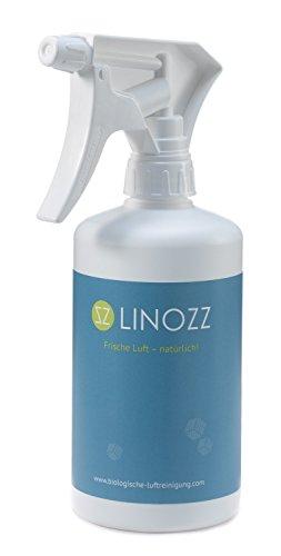 LINOZZ Geruchsneutralisierer für zu Haus 500 ml. Geruchsentferner für Wohnung und Küche. Entferner bei Geruch von Nikotin, Rauch und Urin