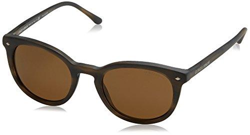 Giorgio Armani Herren AR8060 Sonnenbrille, Braun (Tortoise 540557), One size (Herstellergröße: 50)