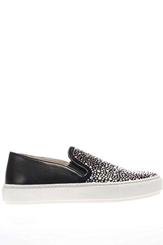 37728 NERO.Sneaker slip on.Nero.39
