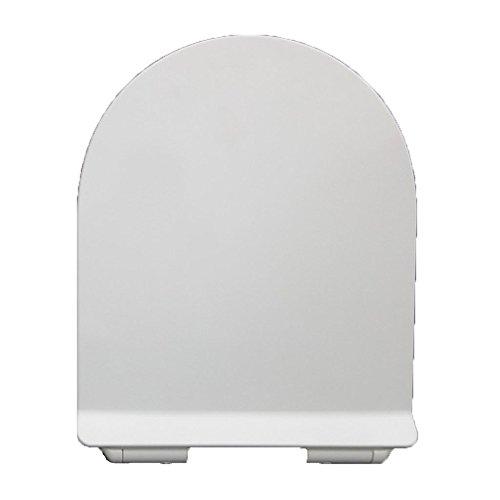ANHPI Universale Sedile Del Water Ultrasottile U-shaped Rallentare Coprisedile Per Toilette Urea-formaldeide Antibatterico,White-45*36cm